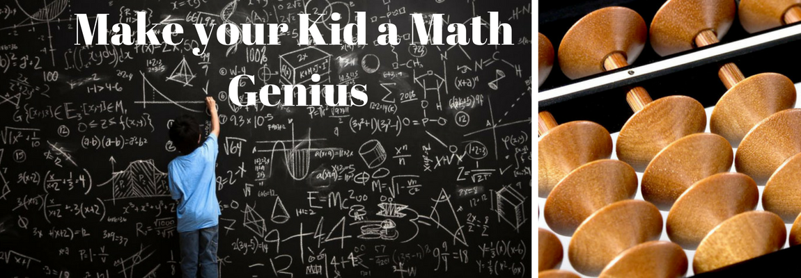 Make your Kid a Math Genius